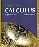 Calculus, Early Transcendentals, Single Variable (Cloth) and CalcPortal Access Card (12 Month), Rogawski and Rogawski, Jon, 1429278315