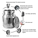 Dyna-Living Stainless Steel Milk Can 25 Liter