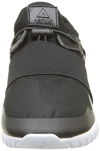 Asfvlt dk Basses Baskets Area Mid Shadow Adulte Noir Mixte black SqrHSPBpw