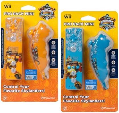Ardistel - Paquete Pro Mini Mandos Skylanders (Mando + Nunchuck ...