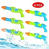 NextX 6 Pack Water Blaster, Water Guns Super Soaker, Summer Water Toys for Kids