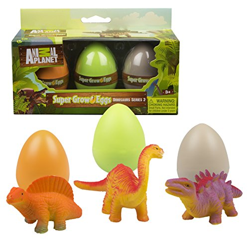 Animal Planet Grow Eggs- Dinosaur- Hatch and Grow Three Different Super-Sized Animals (Series 2) ()