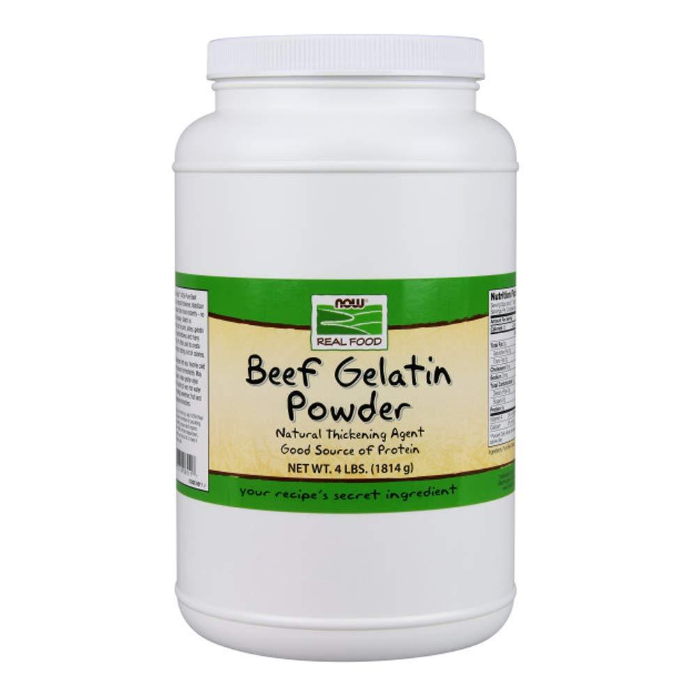 Now Foods Beef Gelatin 4 lb