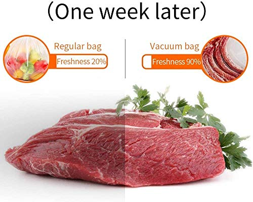 Vacuum Sealer Bags Rolls Commercial Grade Food Storage 2 Rolls 8\