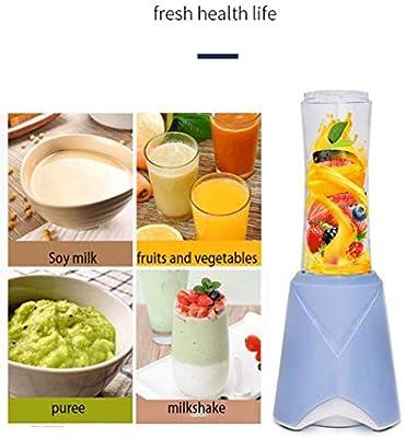 YHDQ Licuadora de Frutas/Vegetales, Mini licuadora, licuadora de ...