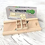 Raw Rutes - Compact Wooden Cabbage Shredder with Hand Guard