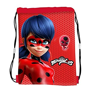 Miraculous 1101E-6668 Ladybug - Bolsa de Gimnasio y natación para niño