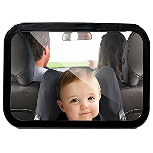 Ghb espejo retrovisor beb espejo de asiento for Espejo retrovisor para ninos
