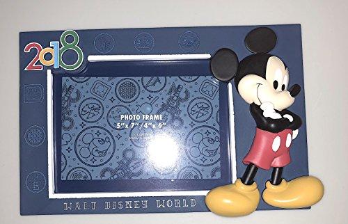 Walt Disney World 2018 Mickey Mouse 4 x 6 or 5 x 7 Photo Fra