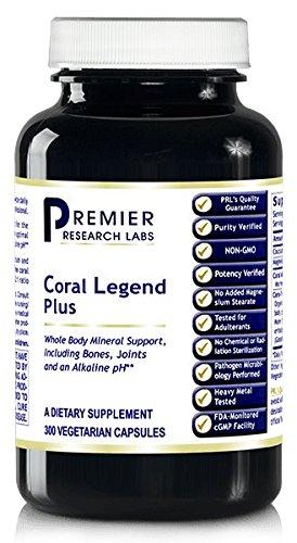 Coral Legend Plus (900 Caps / 3 Bottles) - Premier Quantum Research Labs