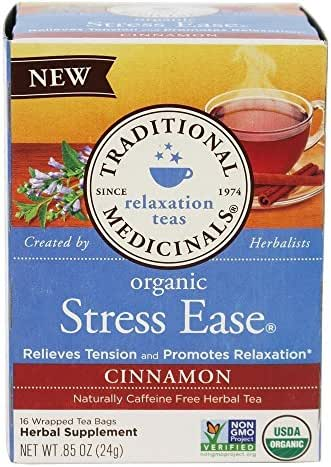 Traditional Medicinals Stress Ease Tea Bags
