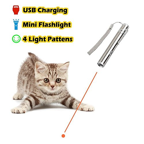 sanwich Interactive LED Training Cat Toy Pointer Pen Funny T