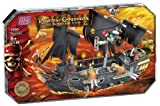 Mega Bloks Pirates of the Caribbean 3 Deluxe Ship -Black Pear