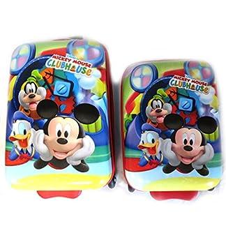 Set 2 maletas abs 'Mickey'tutti frutti (45/52 cm).