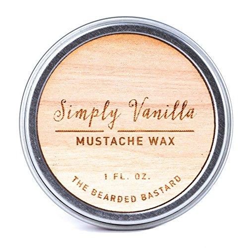 Simply Vanilla Mustache Bearded Bastard