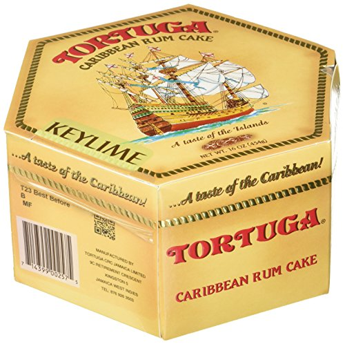 - TORTUGA Caribbean Key Lime Rum Cake - 16 oz. - The Perfect Premium Gourmet Gift