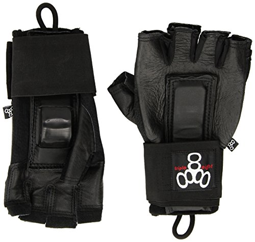 Triple 8 Hired Hands (Black, Large)
