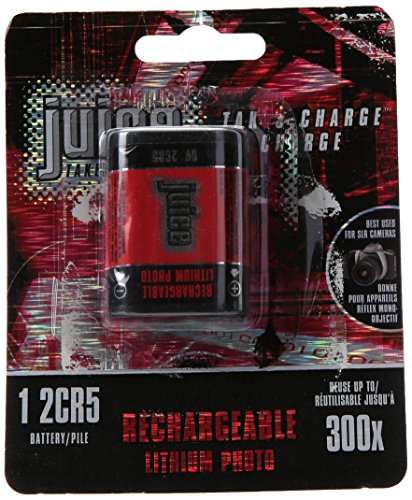 Juice 2CR5 Rechargeable Photo Lithium Batteries by Juice Batteries
