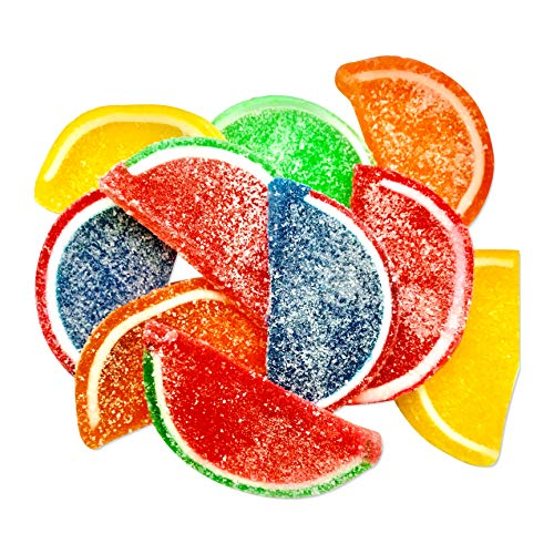 Boston Fruit Slices - Jelly Fruit Slices Assorted Candy - 5 LB BULK Box - FACTORY DIRECT - America's Original Fruit Slices - Vegan, Gluten Free, Completely Allergen Free! (Fruit Candy)
