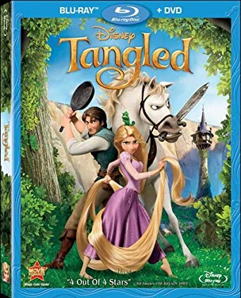Amazon com: Tangled (Two-Disc Blu-ray/DVD Combo): Mandy