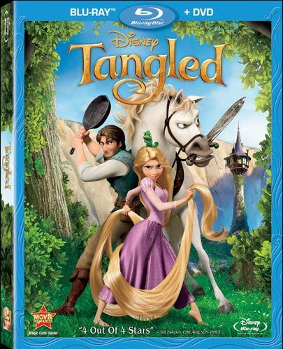 - Tangled (Two-Disc Blu-ray/DVD Combo)
