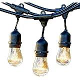20m Festoon String Lights Kits Wedding Party Christmas Waterproof Outdoor