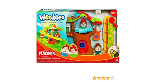 Playskool Hasbro Weebles Árbol musical - Casa del árbol de juguete: Amazon.es: Juguetes y juegos