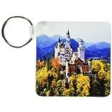 kc_81792 Danita Delimont - Castles - Neuschwanstein castle, Bavaria, Germany - EU10 RER0071 - Ric Ergenbright - Key Chains