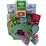Art of Appreciation Gift Baskets Tea Time Treasures Tea Pot Shaped Gift Tote