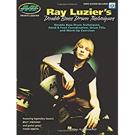 Picture of the cover of Ray Luzier Kindle Double Bass Drum Techniques