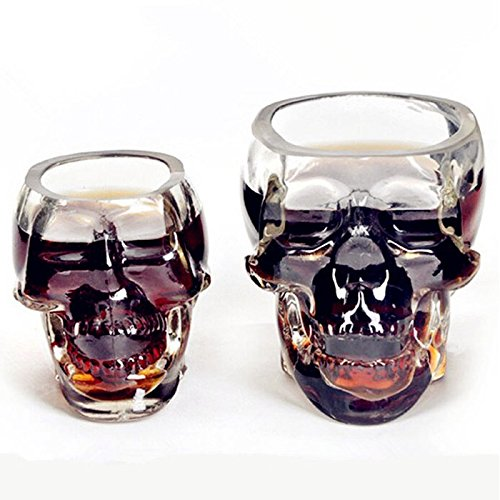VESSOS Home Bones Armor Warrior Skull Designed High Wine Glass Cup Gothic Barware Drinkware! Best DIY Tools for Home from VESSOS