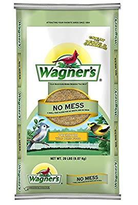 Wagner's 62076 No Mess Wild Bird Food, 20-Pound Bag from Wagners