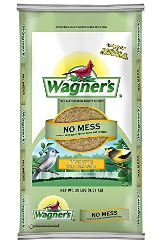 51Bxw jTeYL - Wagner's 62076 No Mess Wild Bird Food, 20-Pound Bag