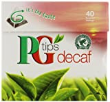 PG Tips Decaf Tea Bags, 40 Count