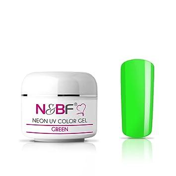 N Bf Neon Farbgel Green Grun Uv Gel Neon Farbgel Nagelgel