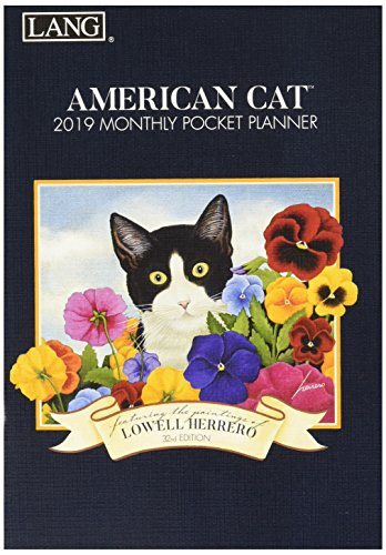 The LANG Companies American Cat 2019 Monthly Pocket Planner (19991003156)