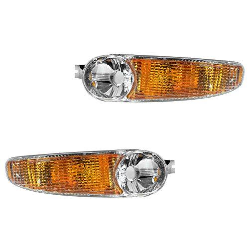 Corner Parking Turn Signal Light Lamp Left Driver Right Passenger Pair for GMC ()