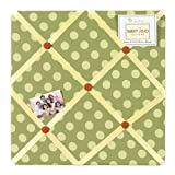 Sweet Jojo Designs Forest Friends Fabric Memory/Memo Photo Bulletin Board