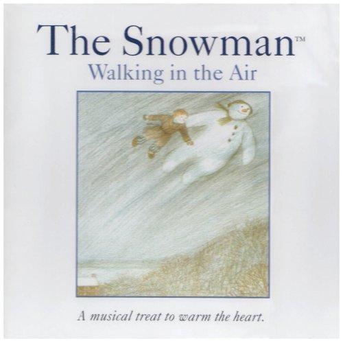 SNOWMAN WALKING IN THE AIR