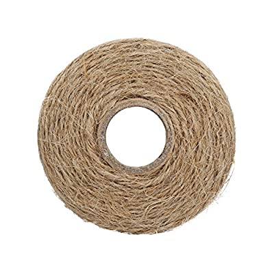 Tenn Well Natural Jute String, 656 Feet 1.3mm Thick Decorative Twine Rope for Crafts, Gift Wrapping, Packing and Gardening: Home & Kitchen