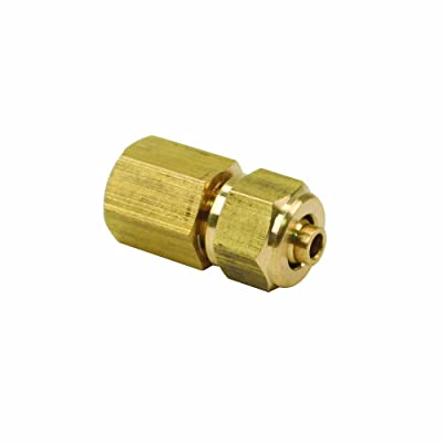 "Viair 92838 1/8"" Female NPT to 1/4\"" Compression Fitting for 1/4\"" Air Line: Automotive [5Bkhe2002373]"