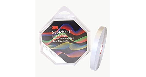 Amazon.com: Scotchcal Striping Tape, 72705, Plata Metálico ...