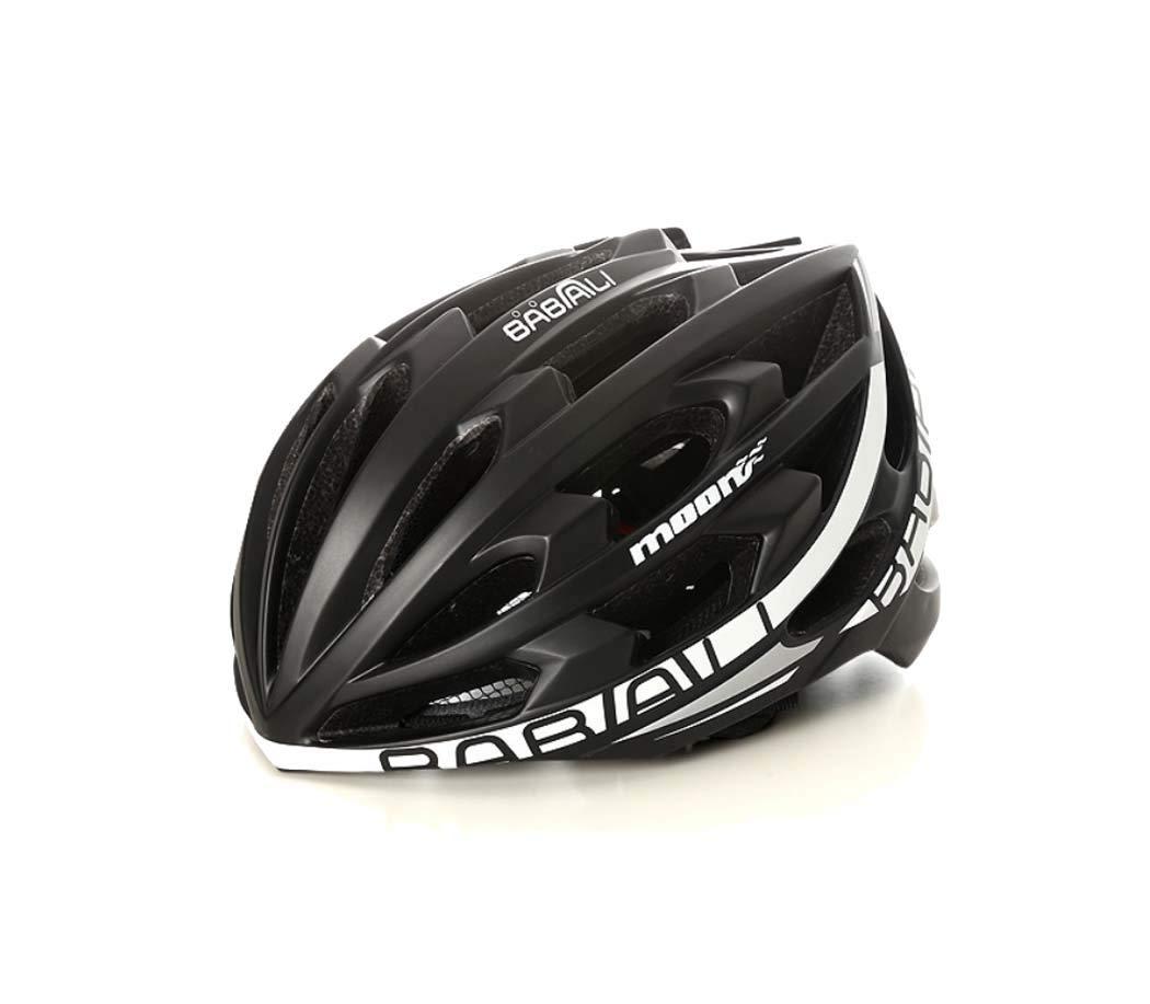 自転車ヘルメット, 軽量ライディングヘルメット PC 屋外サイクリングヘルメット調整しやすいユニセックス大人スポーツヘルメット M:55~58cm NO3 B07PPD3K27