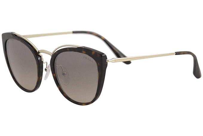Prada 0PR 20US Gafas de sol, Pale Gold/Havana, 54 para Mujer ...