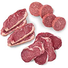 Pre, Grill Master's Curated Steak and Ground Beef Gift Box - 100% Grass-Fed, Grass-Finished, and Pasture-Raised Beef - 6.33 LBS