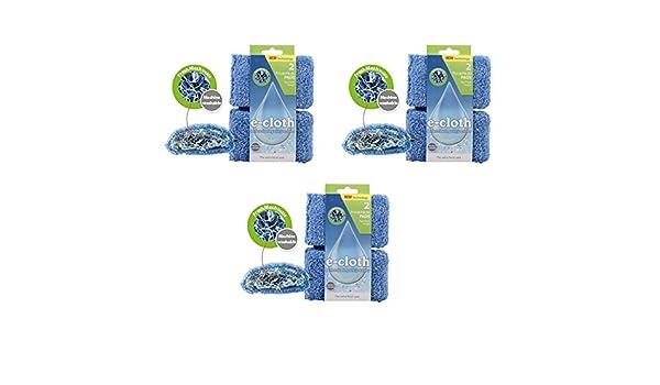 E-Cloth - Almohadillas de limpieza de malla fresca (Paquete de 3 ...