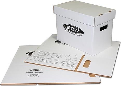 BCW (5) Magazine Storage Box Brand  sc 1 st  Amazon.com & Amazon.com : BCW (5) Magazine Storage Box Brand : Storage File Boxes ...