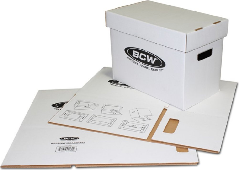 BCW (5) Magazine Storage Box Brand by BCW