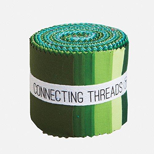 Connecting Threads Color Wheel Premium Precut Fabric Bundle (Forest Park 2.5