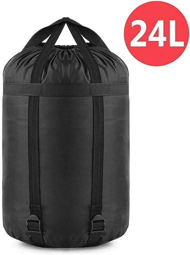 YINXN Compression Stuff Sack, 24L 46L Lightweight Sleeping Bags Storage Stuff Sack Organizer Waterproof Camping Hiking Backpacking Bag for Travel